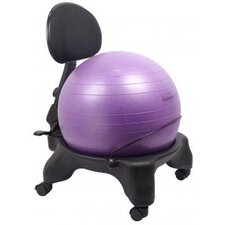 Adjustable Back Exercise Ball Chair