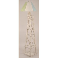 "Coastal Living Life Guard Chair 63"" Floor Lamp"