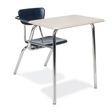 "3000 Series 29"" Plastic Combo Chair Desk"