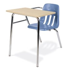 """9000 Series 30"""" Laminate Plywood Combo Chair Desk"""
