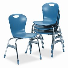 "Virco Ergonomic 18"" Plastic Classroom Chair"