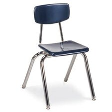 "3000 Series 16"" Plastic Classroom Chair (Set of 4)"