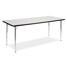 "4000 Series 60"" x 30"" Rectangular Classroom Table"