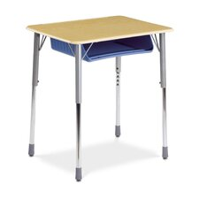Zuma Plastic Rectangular Desk (Set of 2)