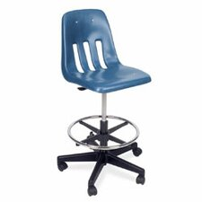9000 Series Mid-Back Drafting Chair