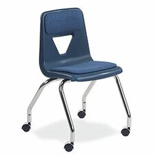 "2000 Series 18"" Plastic Classroom Chair (Set of 2)"