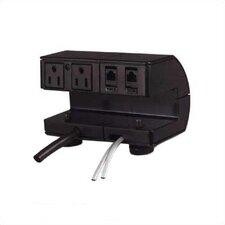 Plateau Series Power / Communication Outlet