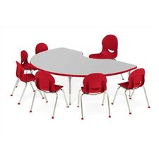 "4000 Series 48"" x 24"" Rectangular Classroom Table"