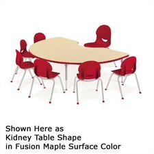 "4000 Series 66"" x 60"" Kidney Classroom Table"