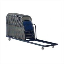 "39.5"" x 21"" x 99.88"" Folding Truck/Storage Cart Chair Dolly"