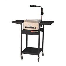 Adjustable Height Cart with Overhead Projector