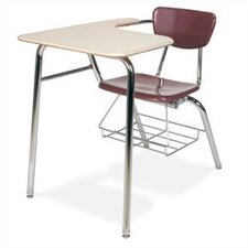 "3000 Series 29"" Laminate Chair Desk with Tablet Arm"