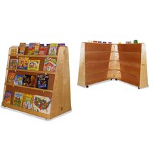 Hinged Double-Sided Book Display