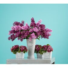 Fleur Square Pot (Set of 4)
