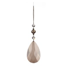 Chateaux Faceted Crystal Pearl Drop Ornament (Set of 6)