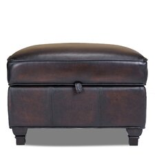 Pablo Leather Storage Ottoman
