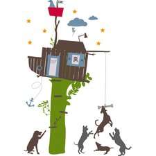 Studio Designs Boys Tree House Wall Decal