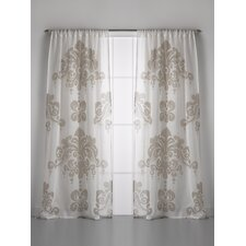 Enchantique Linen Gauze Window Single Curtain Panel
