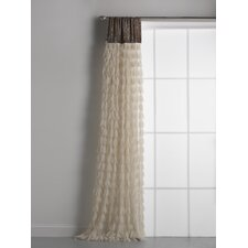 Chichi and Velvet Header Single Curtain Panel