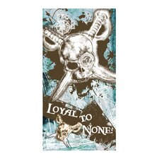 Pirate Loyal to None Beach Towel