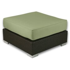 Signature Ottoman with Cushion