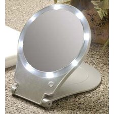 10x Lighted Travel and Home Mirror