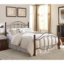 Cassidy Metal Panel Bed