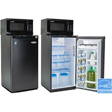 Snackmate 3.3 cu. ft. Combination Mini Refrigerator and Microwave