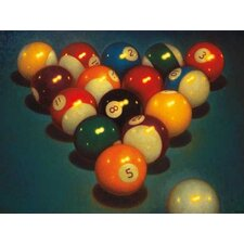 Eight Ball II by TR Colletta Painting Print on Wrapped Canvas