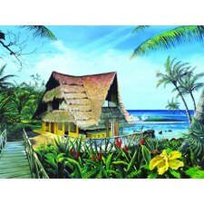 Hawaiian Hideaway by Scott Westmoreland Graphic Art on Canvas