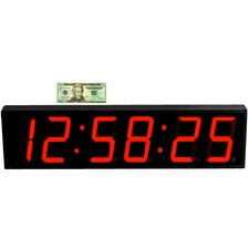 """Large 5"""" Digit LED with Remote Control Countdown Clock"""