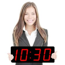 "Huge 5"" Numbers LED Clock"
