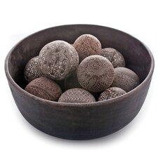 Mason Stone Powder Decorative Ball