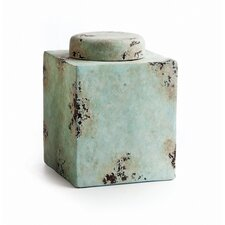 Sedona Pottery Small Square Pot with Lid