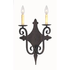 Angelique 2 Light Wall Sconce