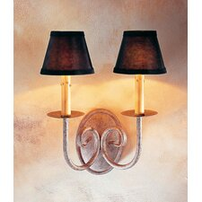 Squire 2 Light Wall Sconce