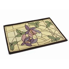 Arts and Crafts Flowers and Vines Placemat (Set of 4)