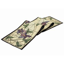 Arts and Crafts Flowers and Vines Table Runner
