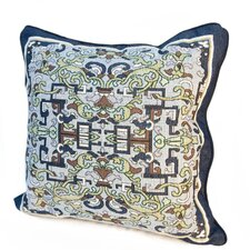 Arts and Crafts Asian Ornament Throw Pillow