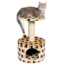 """24"""" Toledo Paw Print Cat Condo"""