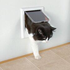 Electromagnetic 4 Way Cat Door