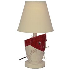 """Fishing Lure 18"""" H Table Lamp with Empire Shade"""