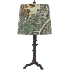 "Camo 17"" H Table Lamp with Empire Shade"
