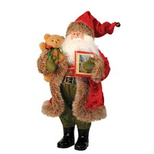 Story Time Santa Figurine