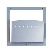 One Pocket Standard Chart Holder with Square Front