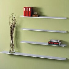 Envision® Aluminum Floating Wall Shelf