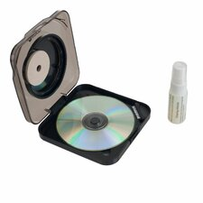 Radial DVD CD Cleaning System