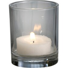 Glass Tea Light and Votive Candle Holder (Set of 12)