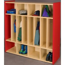 2000 Series 8-Section Cubbie Spacesaver Locker