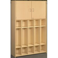 2000 Series 5-Section Student Storage Locker
